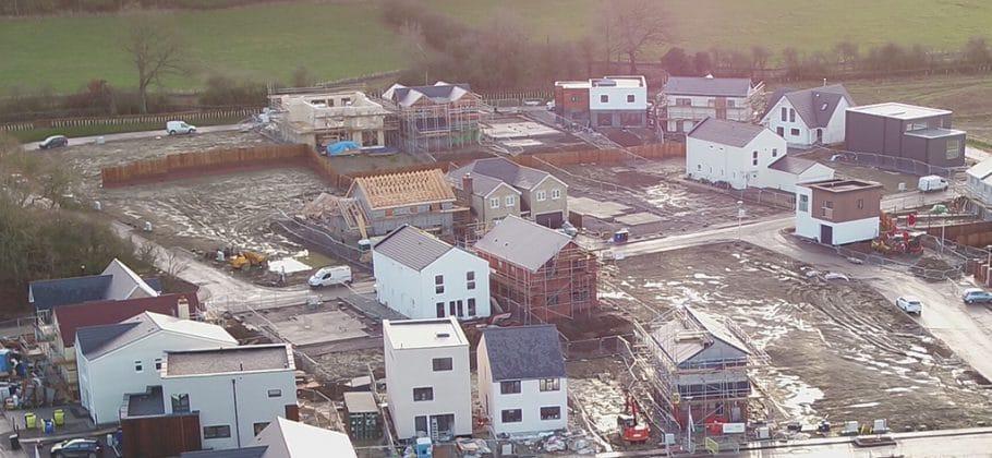 201812 - Range of Self-Build Homes taking shape