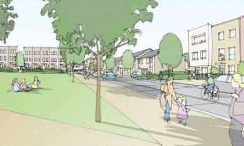 Graven Hill's vision for the Village Centre