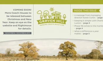 Graven Hill newsletter November 2017