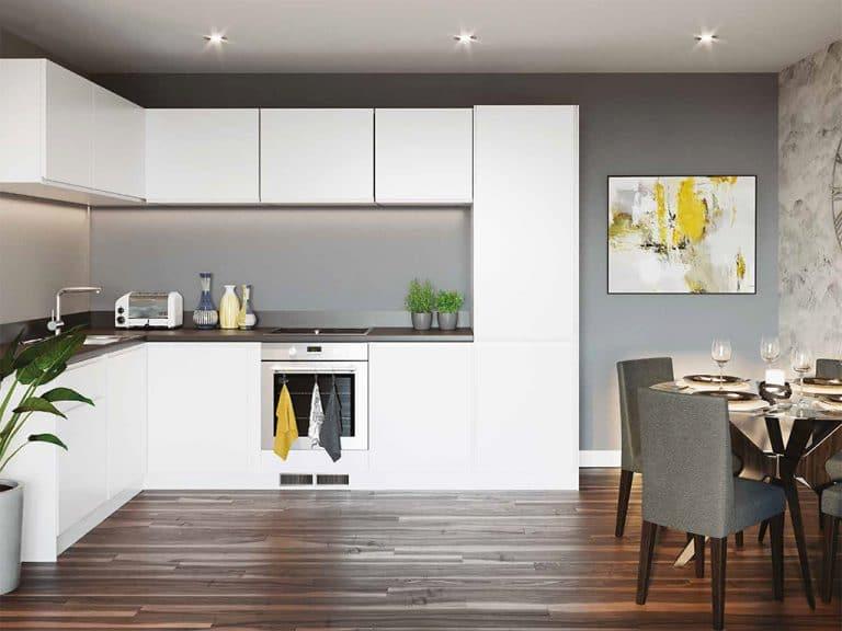 Graven Hill Apartments - Interior Kitchen