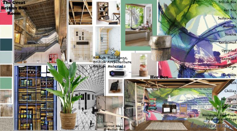 Art Textiles Design for Interiors - Great British Box Room Competition