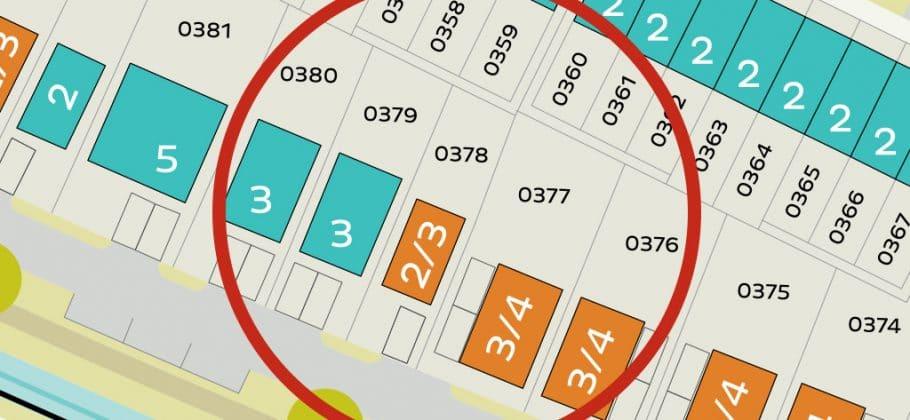 Plot 378 - Plot Location