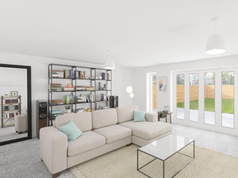 Custom Build_The Meadow Living Room