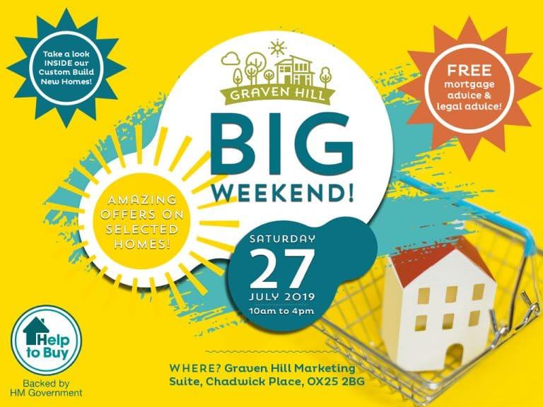 Graven Hill Big Weekend - Website - Hero Image - with CTAs