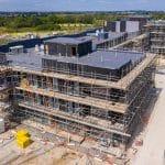 July 2020 - Graven Hill Apartments under construction