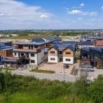 July 2020 - Wood Crescent Self-Build homes