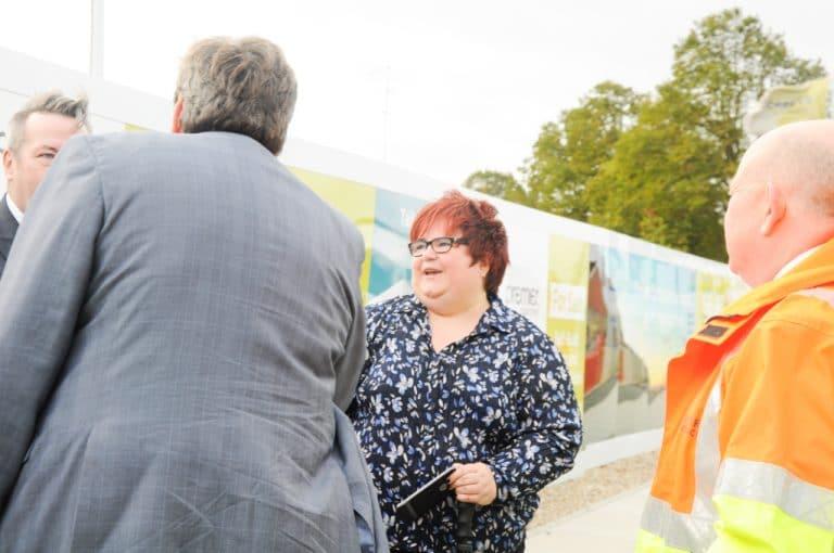 Kit Malthouse MP - Graven Hill Site Visit