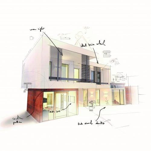 Self Build Plot design at Graven Hill