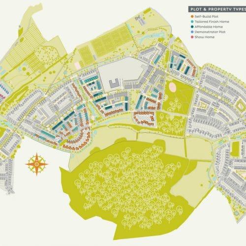 Graven Hills master plan map