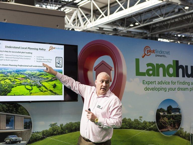 National Homebuilding & Renovating Show - Land Hub