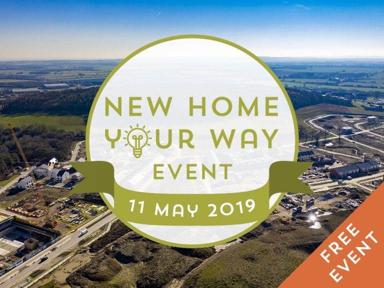New Home Your Way Event - Website Landing Page