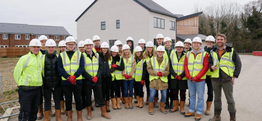 Oxford Brookes Students Site Visit - MSc Real Estate
