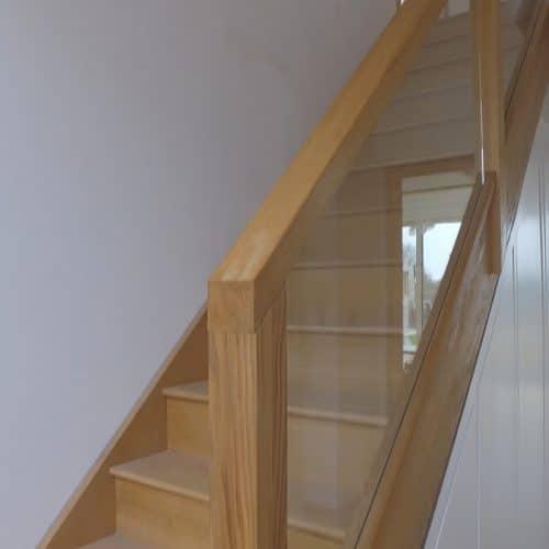 Plot 10 - Garrie & Sue Grand Designs - Stairs
