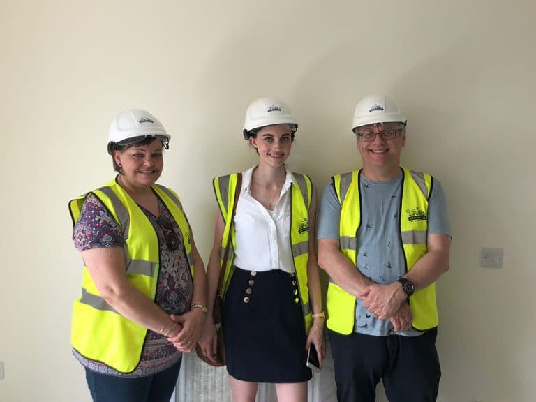 Coach House Purchaser - Jemma and her parents - interior
