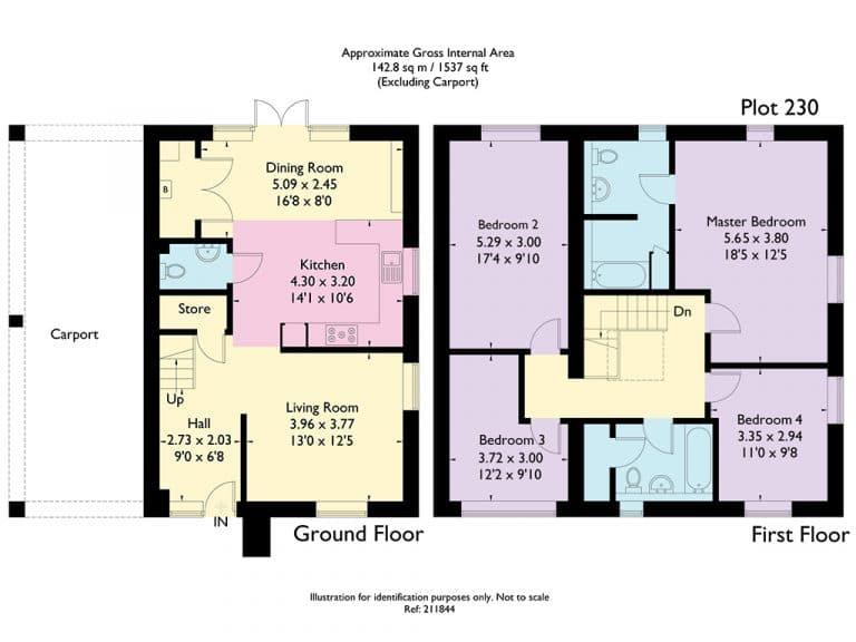 Plot 230 - Main Floorplan