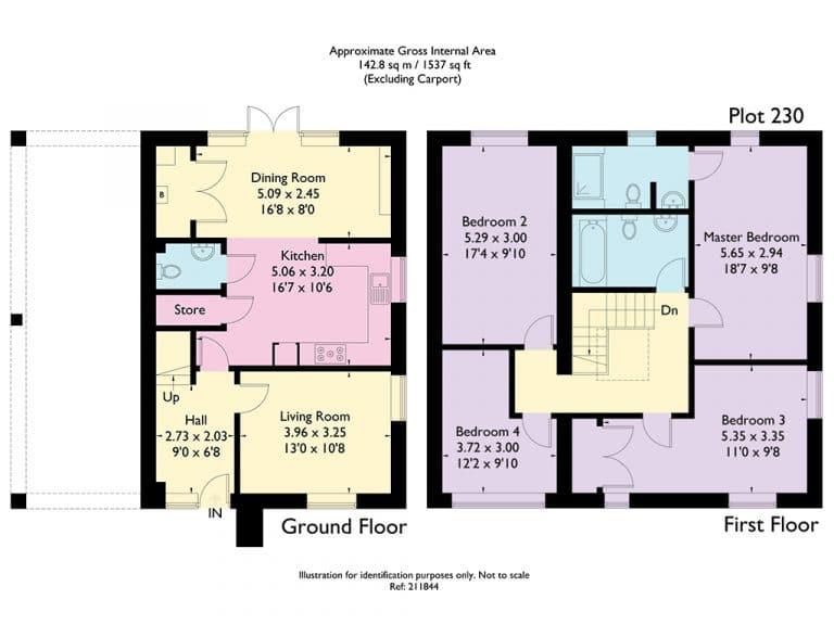 Plot 230 - Alternative Floorplan