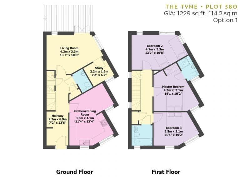 Plot 380 - Floorplan - Option 1