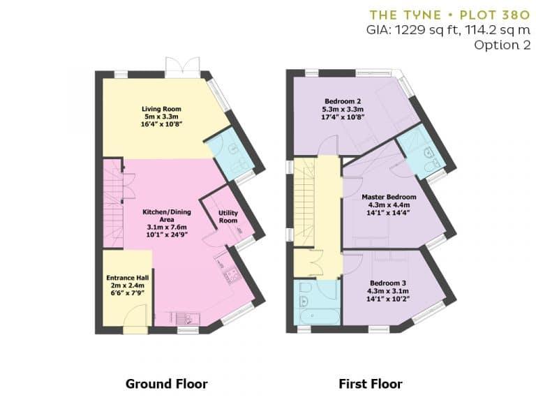 Plot 380 - Floorplan - Option 2