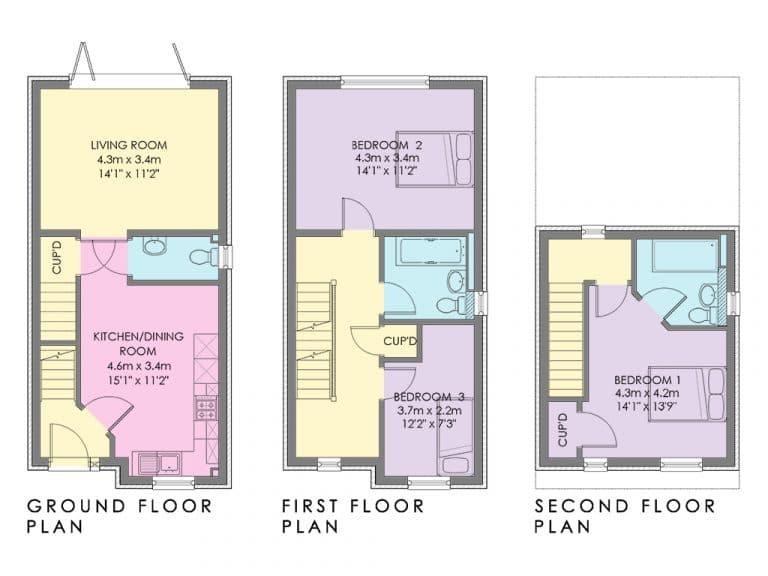 The Swinbrook - Plot 78 - Floorplan