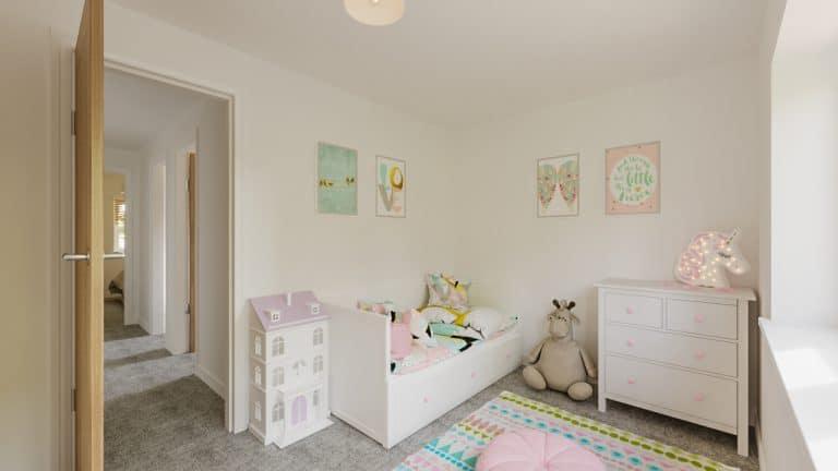 The Darwin - Plot 80 & 97 - Children's bedroom