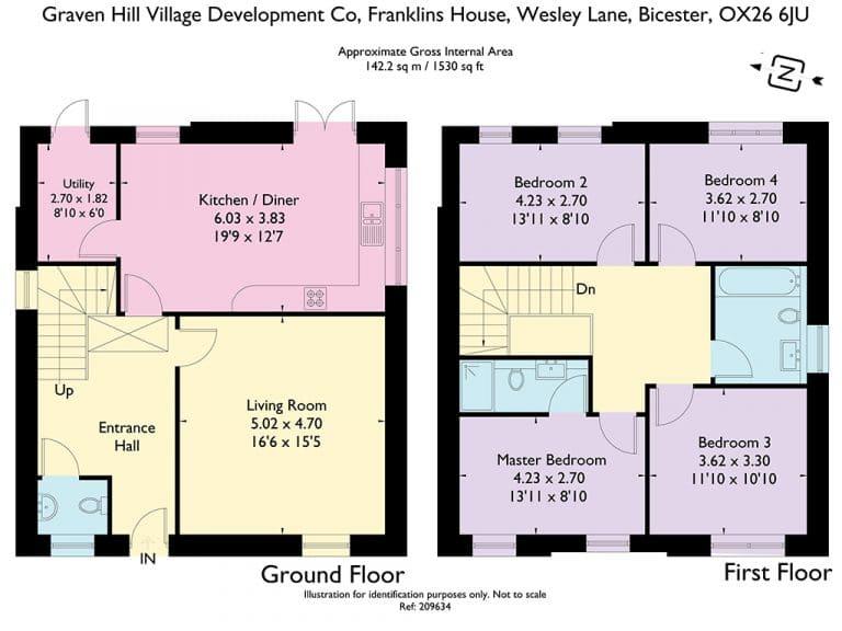 Plot 266 267 268 - Floorplan