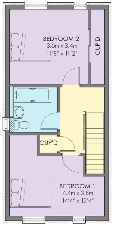 The Tilbury Floorplan - First Floor