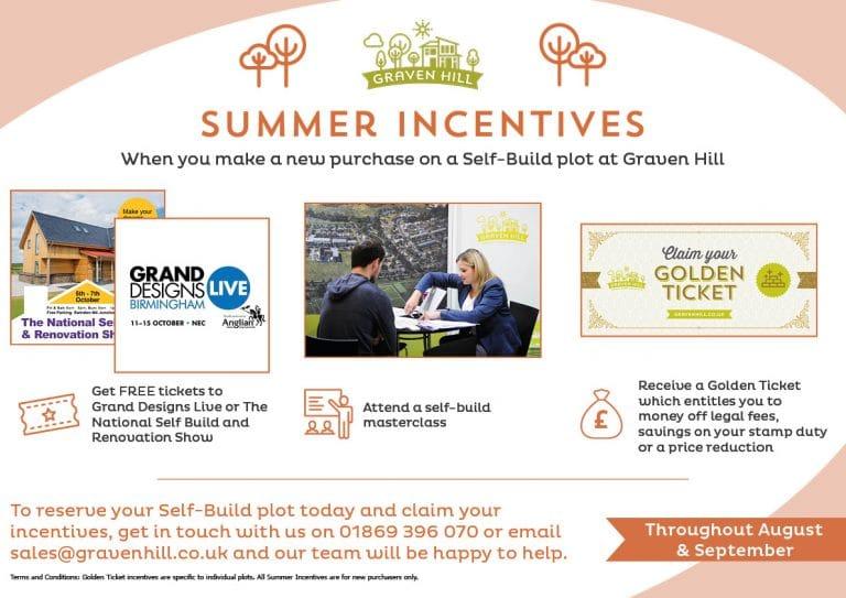 Summer Incentives - Self Build