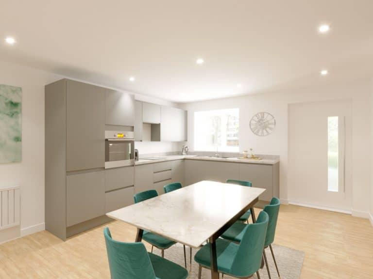 The Glade kitchen