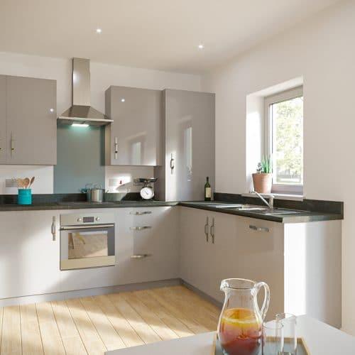 The Sandford - Kitchen_2 - Plot 21 & 24