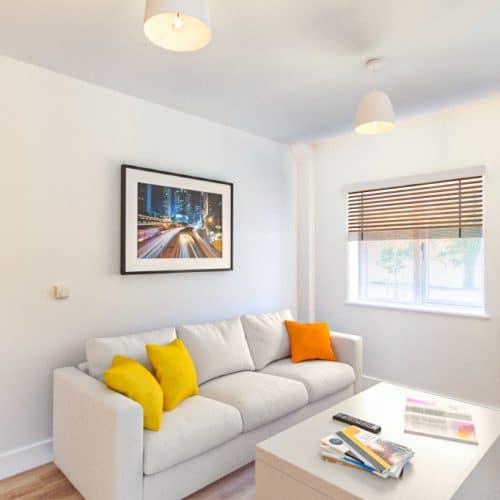 The Sandford - Living Room - Plot 21