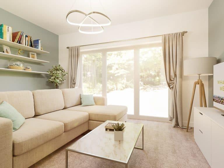 The Tilbury - Plot 75 & 77 Option - Living Room