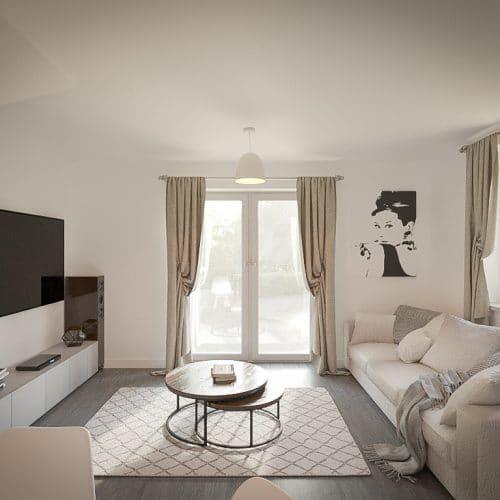 The Tove - Living Room_2 - Plot 212