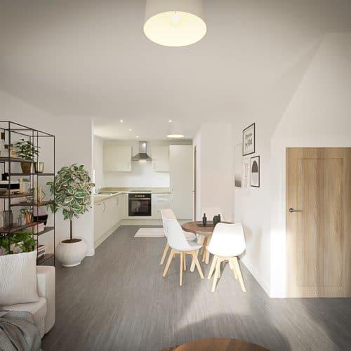 The Tove - Living Room_3 - Plot 212