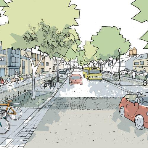 Graven Hill Design Code - Tree-lined Boulevard