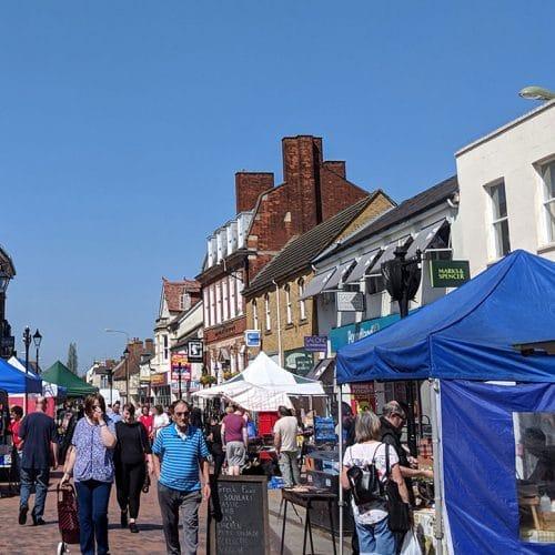 Bicester market street