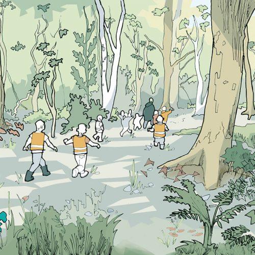 Graven Hill Design Code Woodland areas